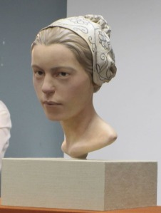 "A reconstruction of 14-year-old ""Jane."""